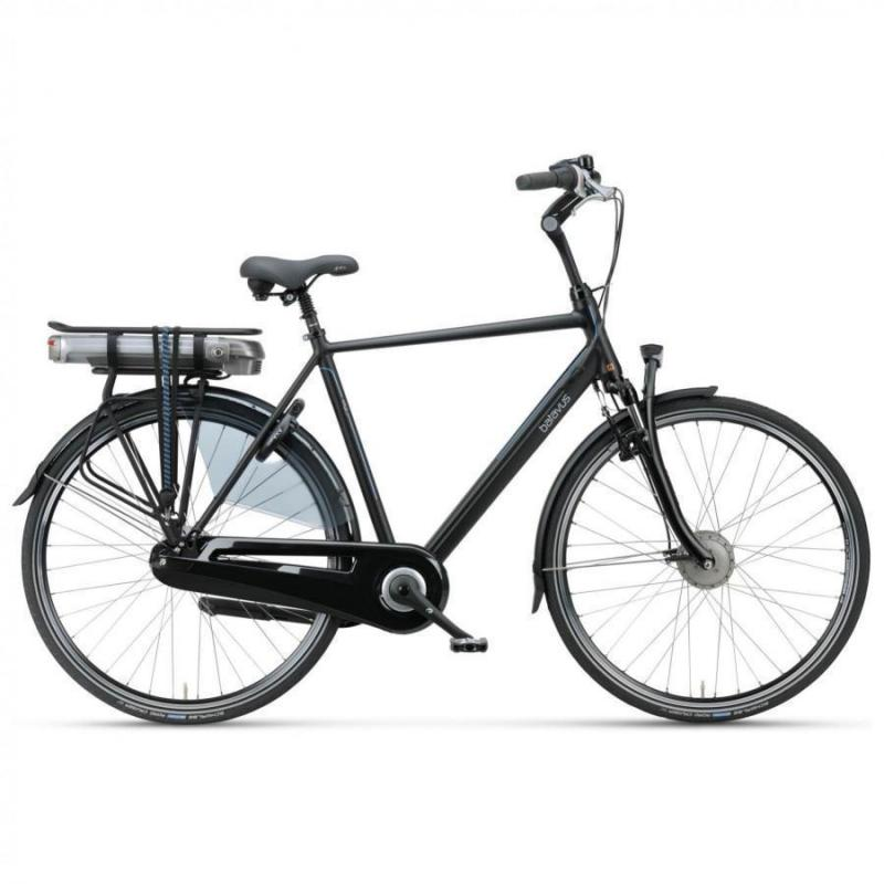 28 inch Batavus Wayz E-Go Comfort 7 Speed 300Wh elektrisch mat-zwart heren (65cm)