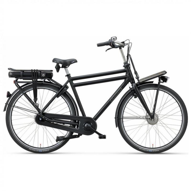 28 inch Batavus Packd E-Go 7 Speed 300Wh elektrisch mat-zwart heren (55cm)