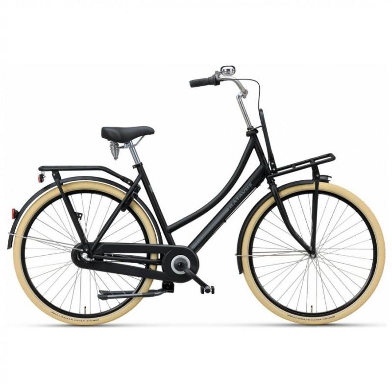 28 inch Batavus Packd Start 3 Speed zwart unisex (53cm)
