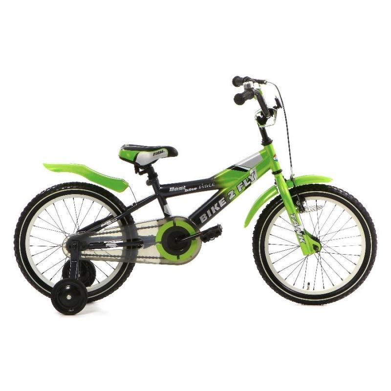 16 inch Popal Bike2Fly groen heren
