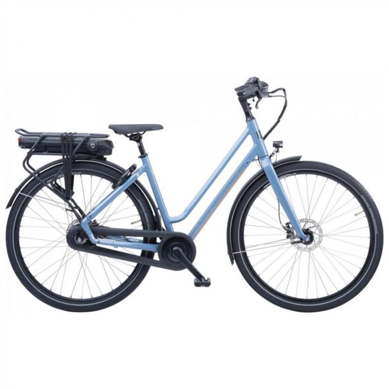 28 inch Sparta R1e Smart elektrisch 300 - 500Wh blauw dames (57cm)
