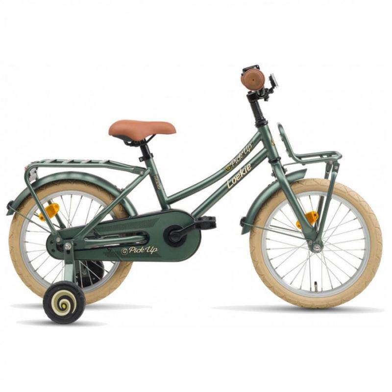 16 inch Loekie Pick-up groen dames