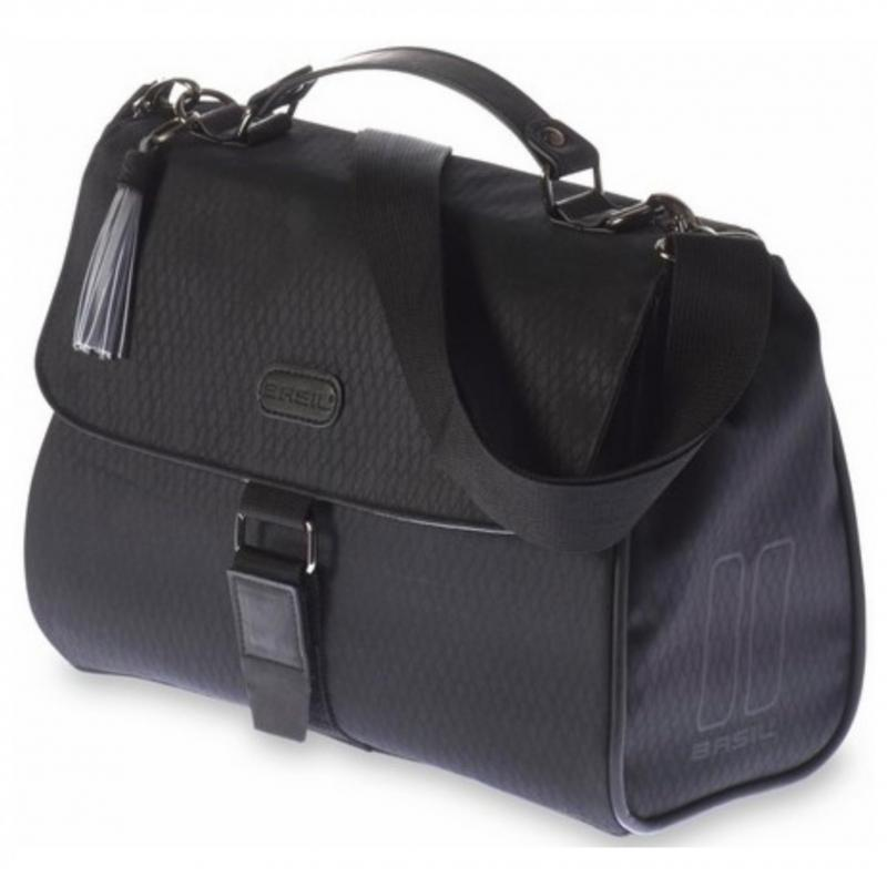 TAS BAS NOIR CITY BAG STUUR ZW 8L