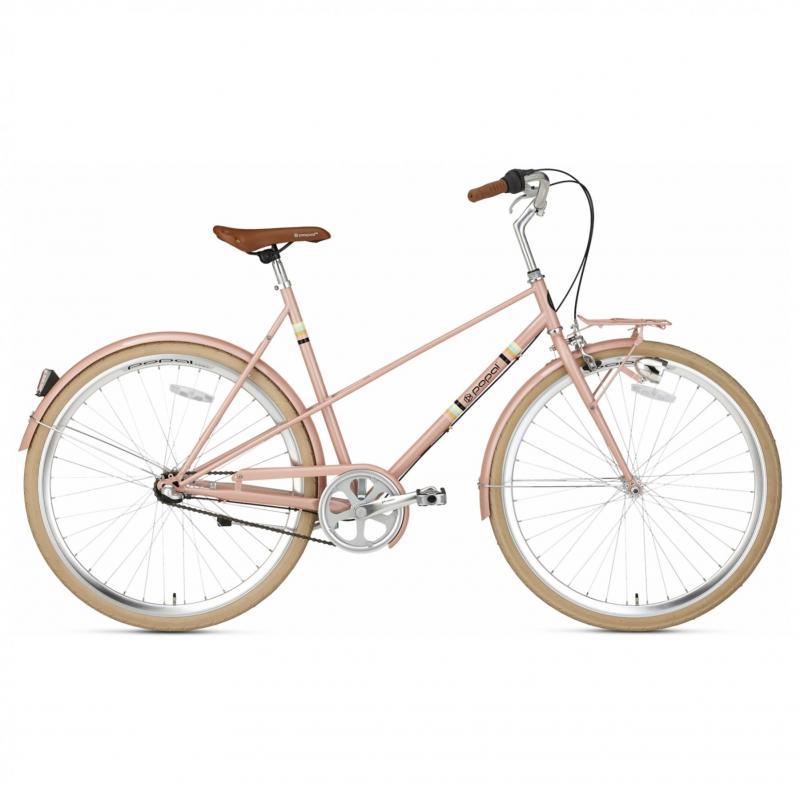 28 inch Popal Capri 3 Speed roze dames (57cm)