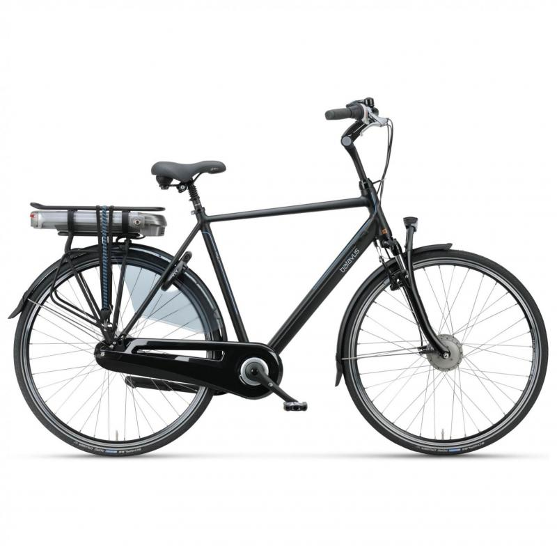 28 inch Batavus Wayz E-Go Comfort 7 Speed 300Wh elektrisch mat-zwart heren (61cm)