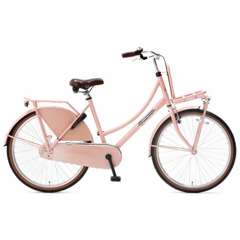26 inch Popal Daily Dutch metalic zacht roze dames