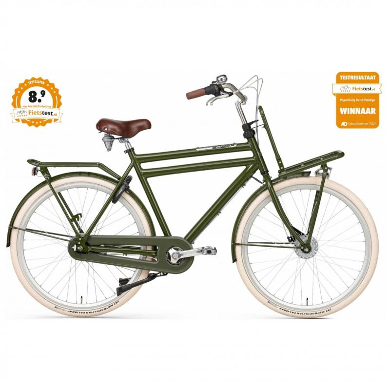 28 inch Popal Daily Dutch Prestige 3 Speed groen heren (57cm)