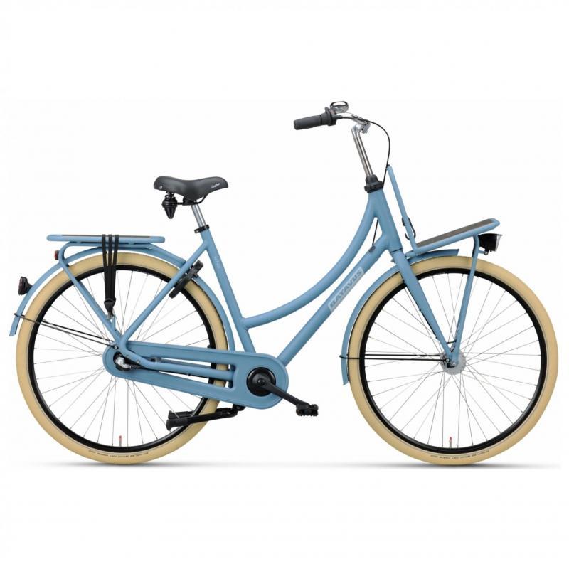 28 inch Batavus Packd 3 Speed licht blauw dames (61cm)