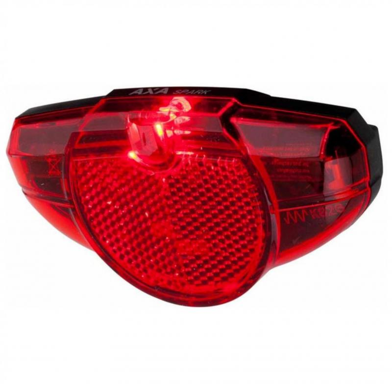 ACHTERLICHT AXA SPARK STEADY LED NDY 50/80MM