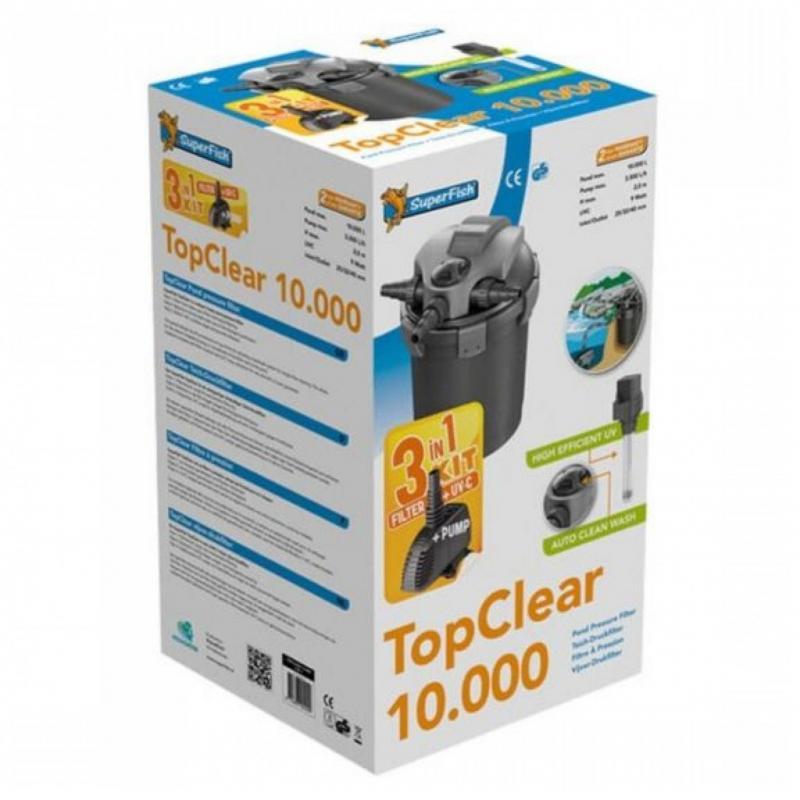 Superfish Topclear Kit 10000 UVC