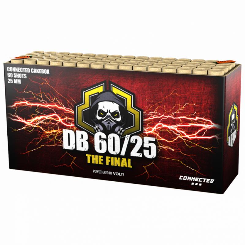[NEW] DB Fireworks 60/25 (60 schots cake)