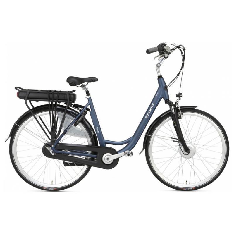 28 inch Popal Sway 3 Speed elektrisch 500Wh blauw dames (53cm)
