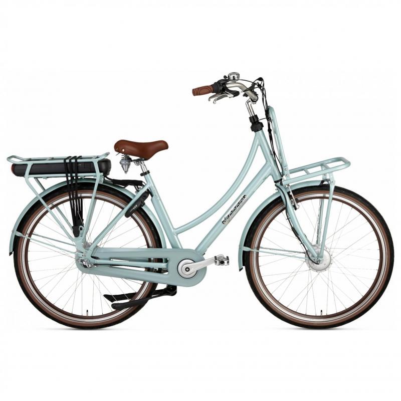 28 inch Popal Prestige-E 3 Speed elektrisch 500Wh groen dames (57cm)