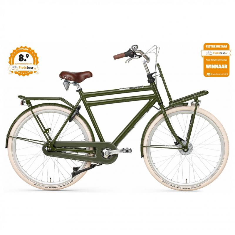 28 inch Popal Daily Dutch Prestige 3 Speed groen heren (50cm)