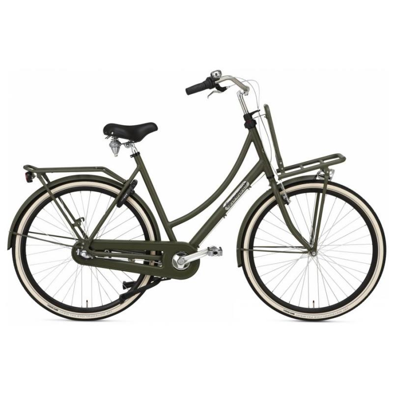 28 inch Popal Daily Dutch Prestige N3RN 3 Speed groen dames (50cm)