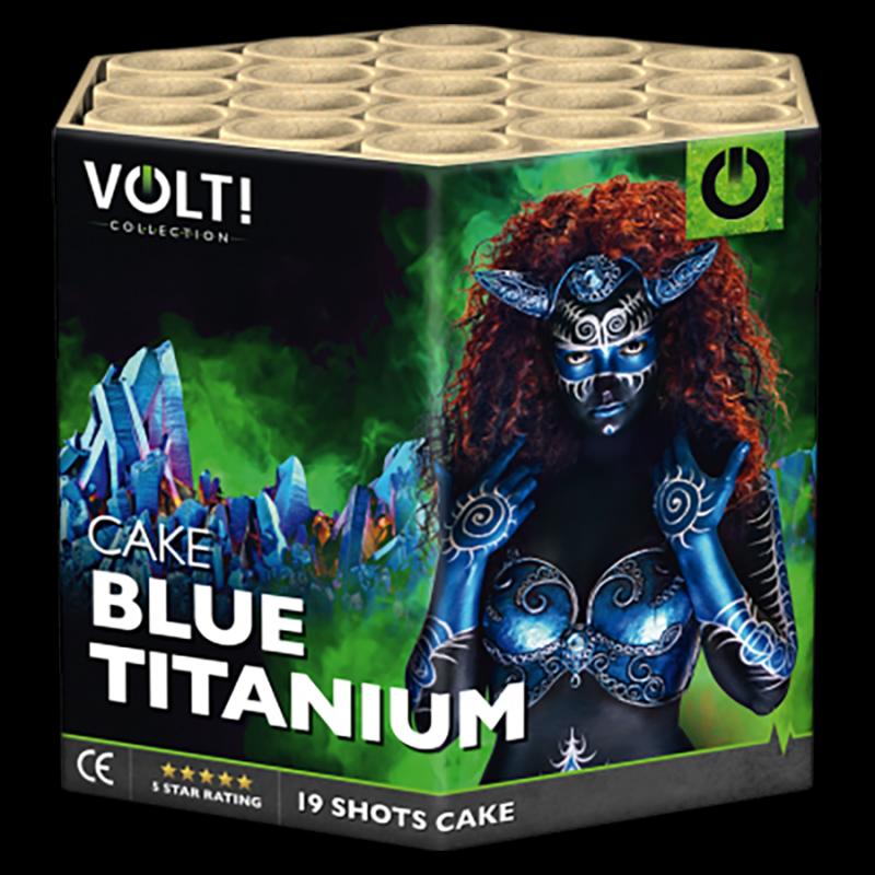 VOLT! Blue Titanium (19 schots cake)