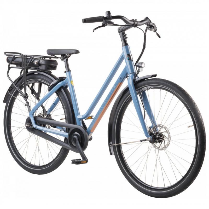 28 inch Sparta R1e Smart elektrisch 300 - 500Wh blauw dames (61cm)