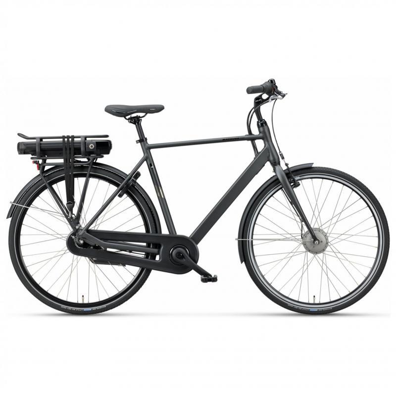 28 inch Batavus Fonk E-Go 7 Speed 300Wh elektrisch zwart heren (53cm)