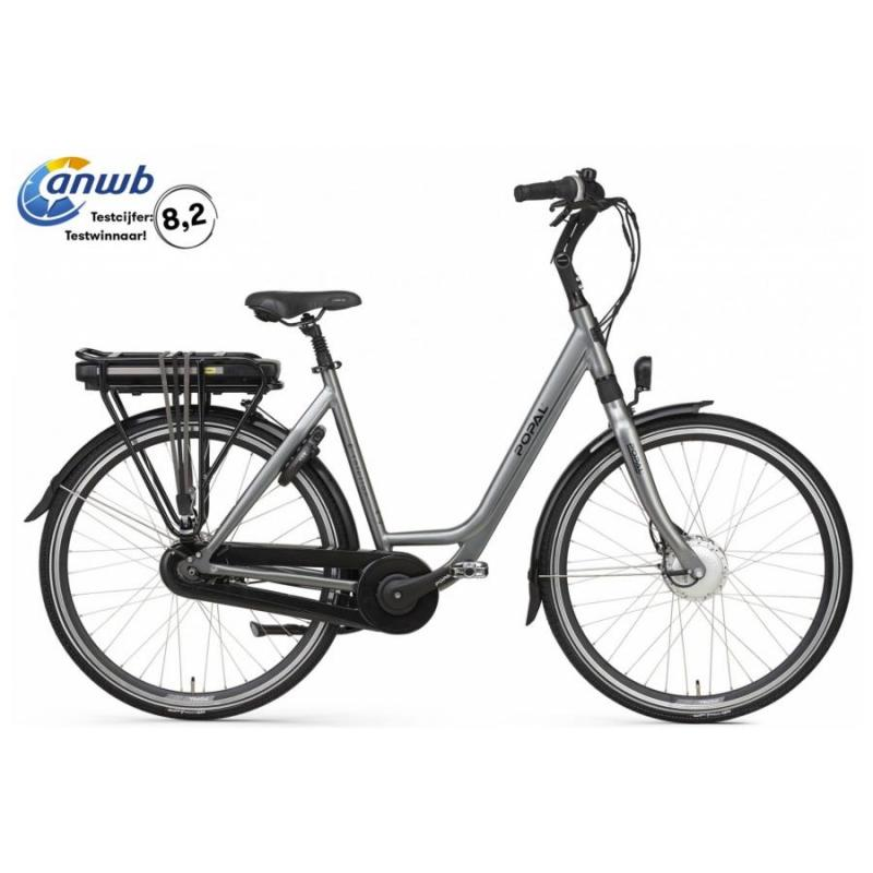 28 inch Popal E-Volution 12.2 8 Speed elektrisch 480Wh grijs dames (53cm)