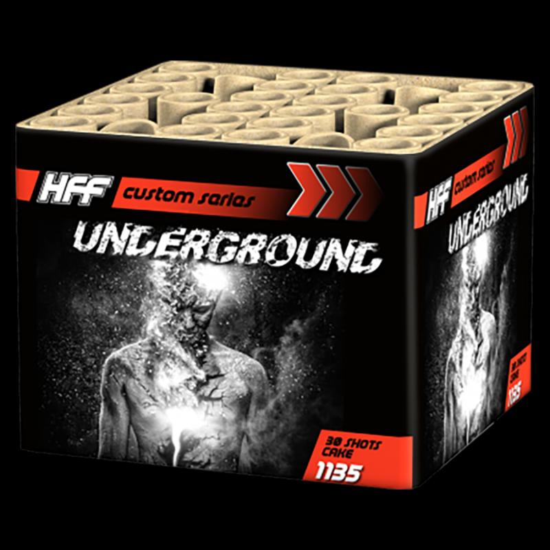 HFF Fireworks Underground (30 schots cake)