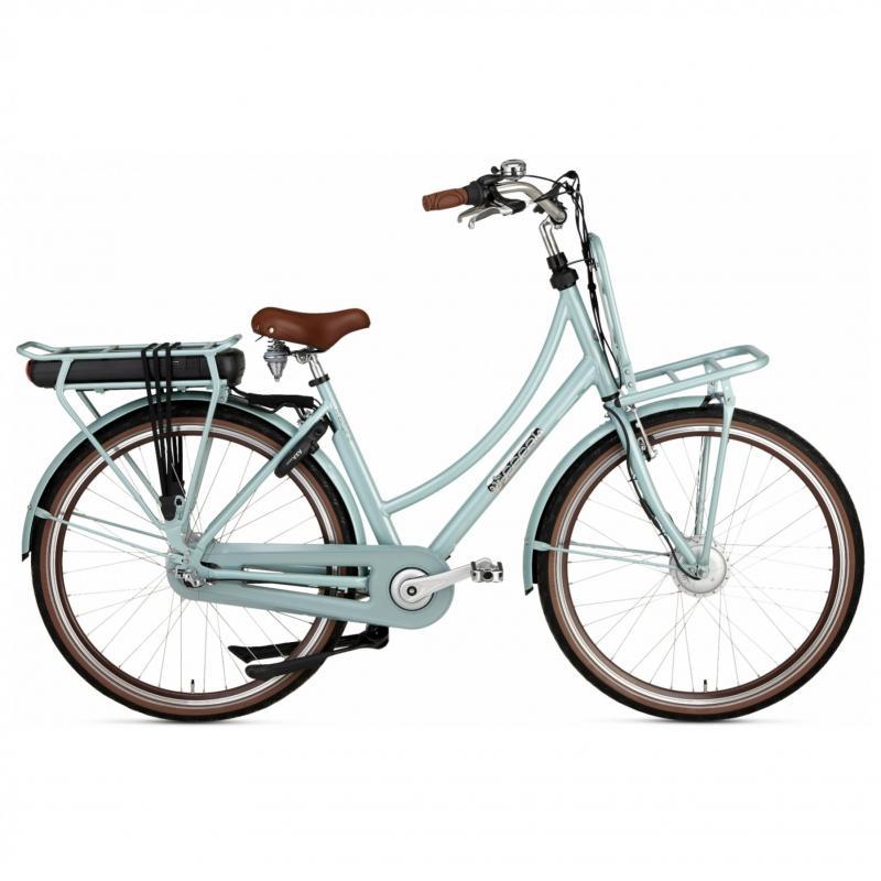 28 inch Popal Prestige-E 3 Speed elektrisch 500Wh Havana-groen dames (50cm)