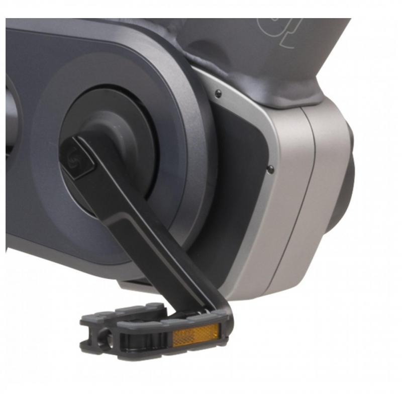 28 inch Sparta M8Ti Smart 8 Speed elektrisch 500Wh grijs heren (65cm)