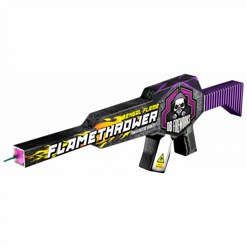 [NEW] DB Fireworks Flamethrower Machine Gun