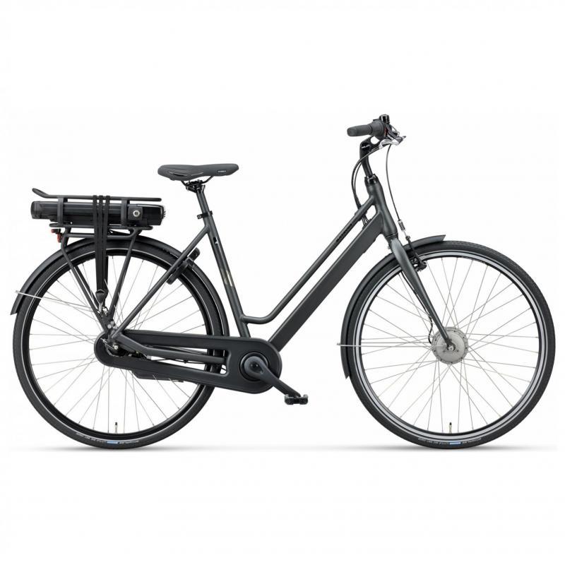 28 inch Batavus Fonk E-Go 7 Speed 300Wh elektrisch zwart dames (48cm)