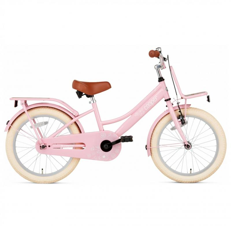 18 inch Popal Cooper Bamboo roze dames