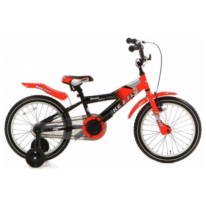 16 inch Popal Bike2Fly rood heren