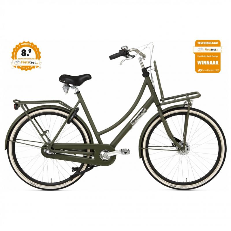 28 inch Popal Daily Dutch Prestige 7 Speed groen dames (57cm)