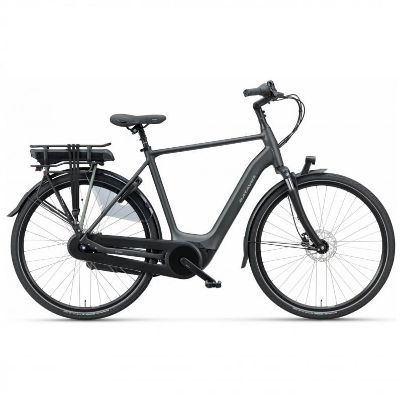 28 inch Batavus Finez E-Go Active 7 Speed 300Wh elektrisch zwart heren (61cm)