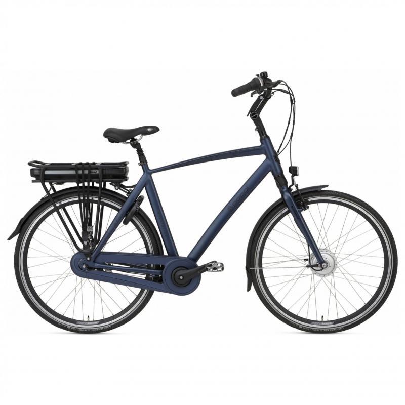 28 inch Popal E-Volution 2.0 elektrisch 480Wh 7 Speed blauw heren (57cm)