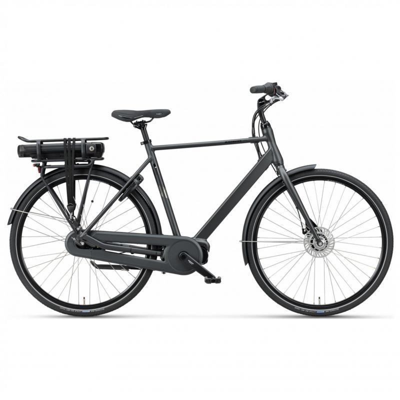 28 inch Batavus Fonk E-Go Plus 7 Speed 300Wh elektrisch zwart heren (61cm)