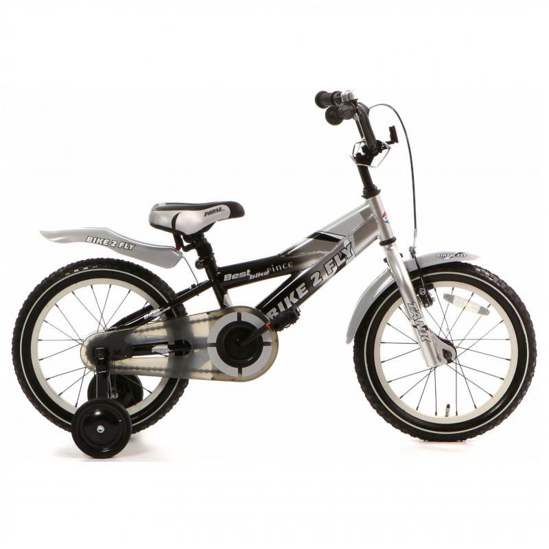 16 inch Popal Bike2Fly zwart heren