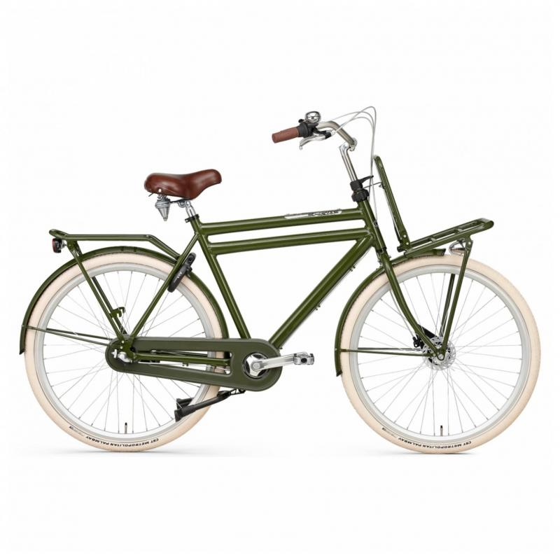 28 inch Popal Daily Dutch Prestige N3RB 3 Speed groen heren (61cm)