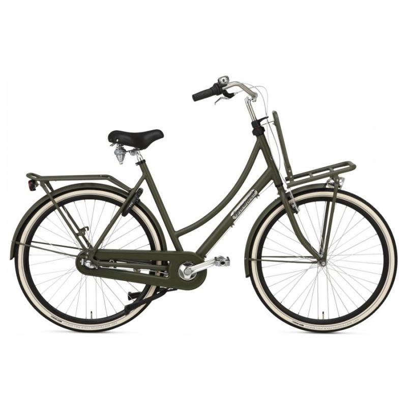28 inch Popal Daily Dutch Prestige N3RN 3 Speed groen dames (57cm)