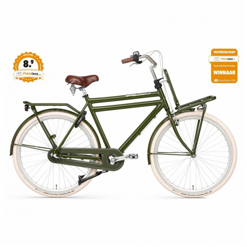 28 inch Popal Daily Dutch Prestige N3RN 3 Speed groen heren (61cm)