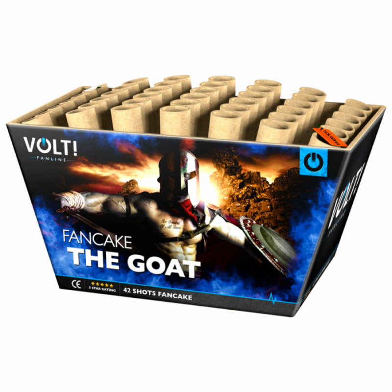 [NEW] VOLT! The G.O.A.T. (42 schots cake)