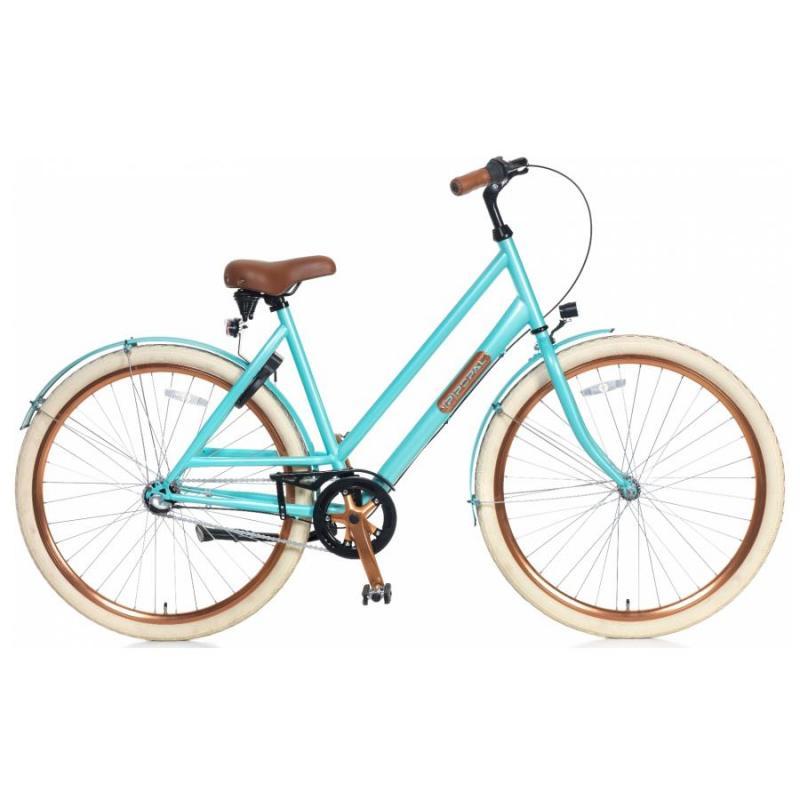 28 inch Popal Montabella 3 Speed blauw dames (53cm)