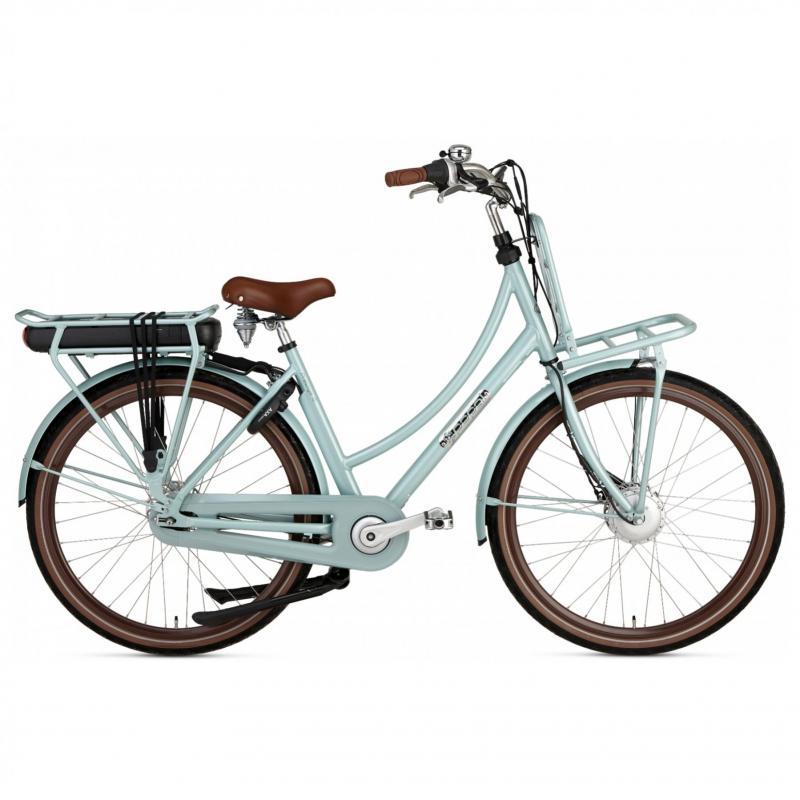 28 inch Popal Prestige-E 7 Speed elektrisch 500Wh groen dames (57cm)