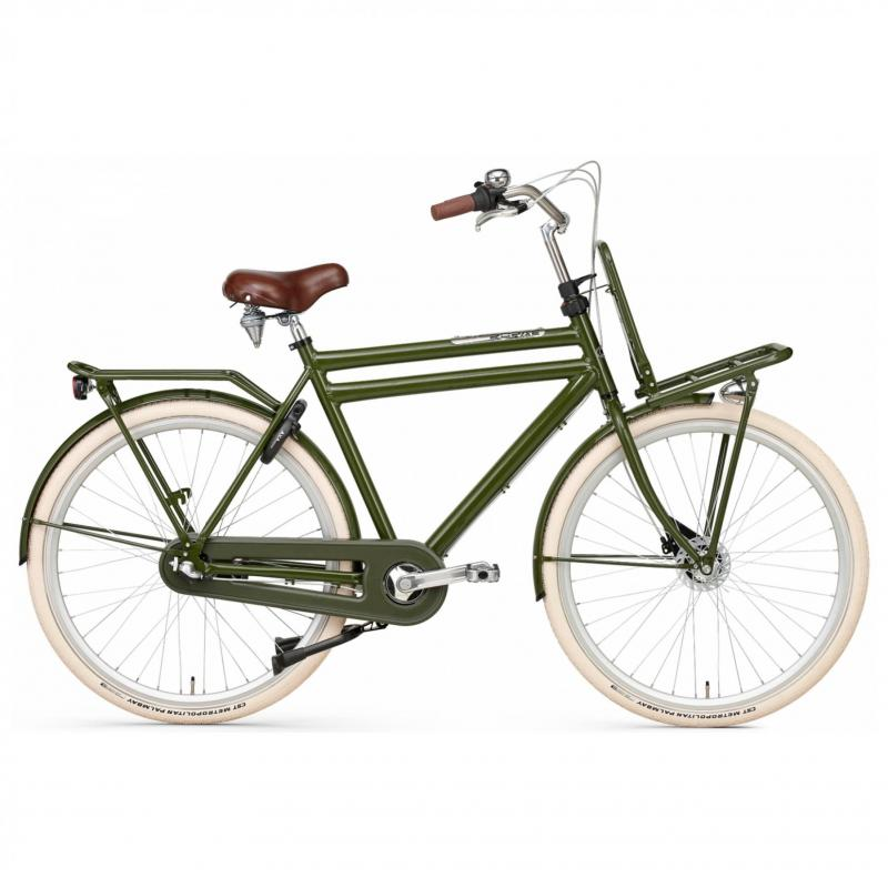 28 inch Popal Daily Dutch Prestige N3RB 3 Speed groen heren (57cm)