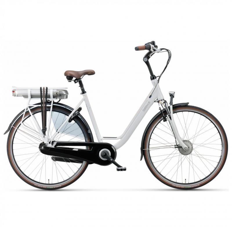 28 inch Batavus Wayz E-Go Comfort 7 Speed 300Wh elektrisch wit dames (53cm)