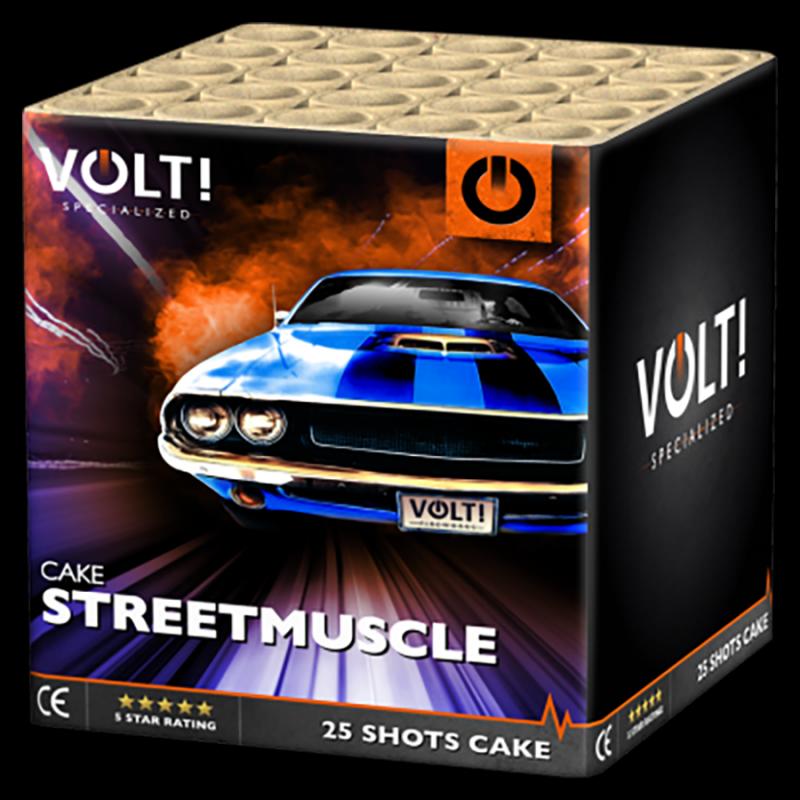 VOLT! Streetmuscle (25 schots cake)