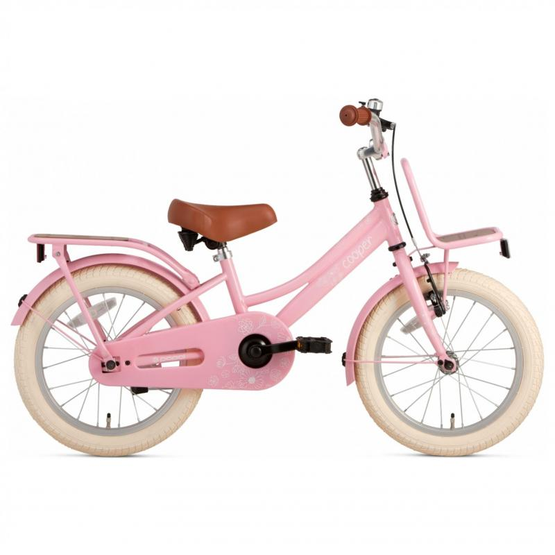 16 inch Popal Cooper Bamboo roze dames