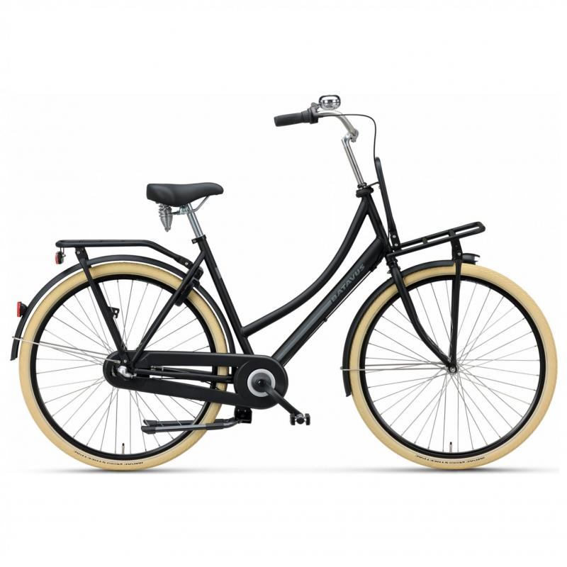 28 inch Batavus Packd Start 3 Speed zwart unisex (57cm)