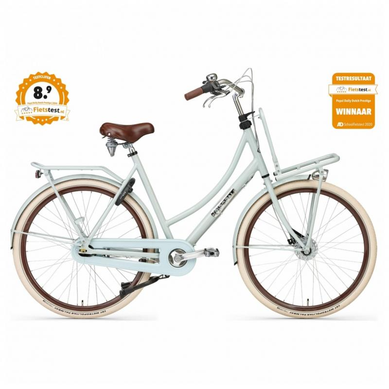 28 inch Popal Daily Dutch Prestige 7 Speed licht groen dames (57cm)
