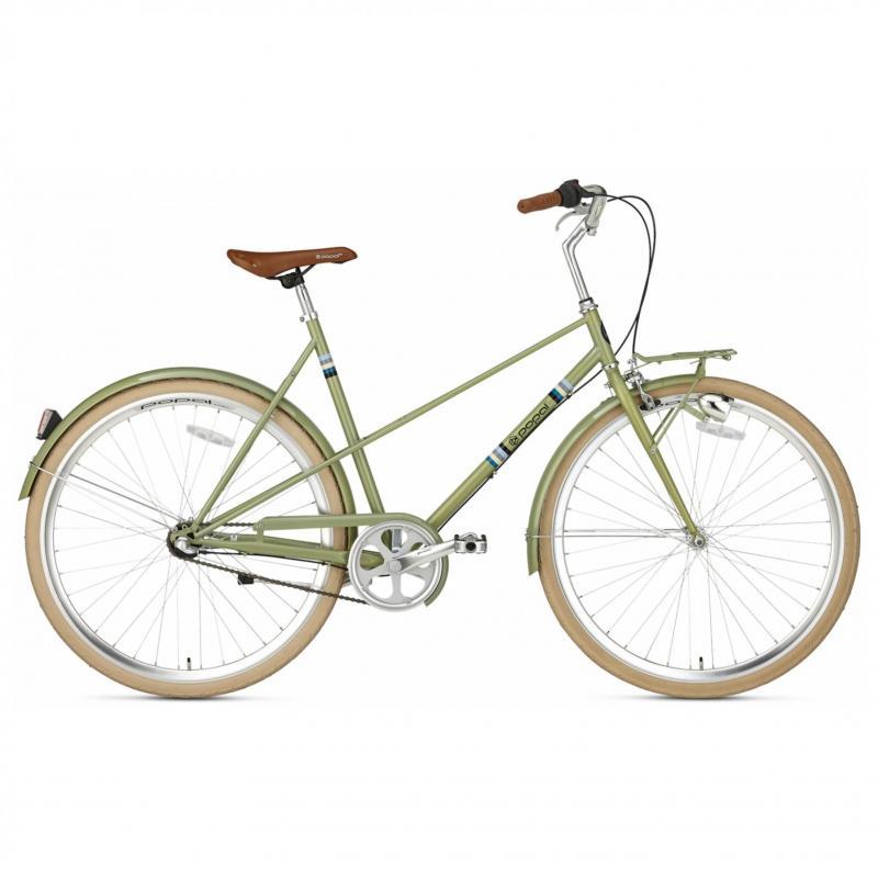 28 inch Popal Capri 3 Speed groen dames (57cm)