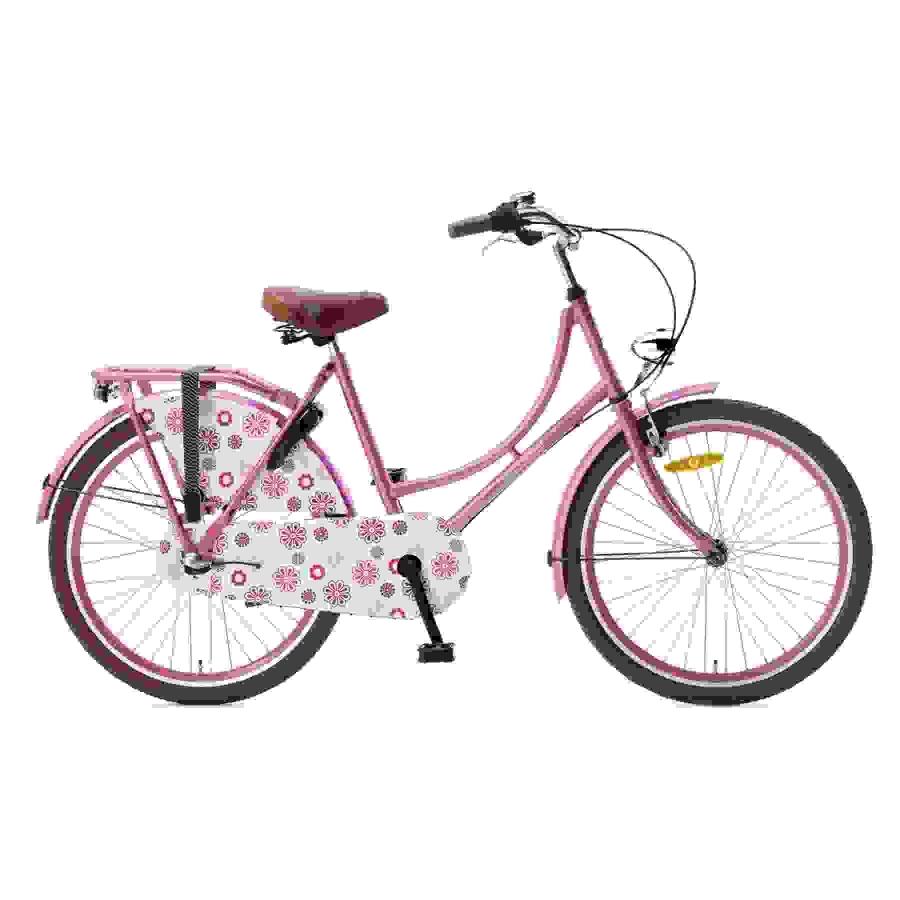 24 inch Popal Omafiets roze dames