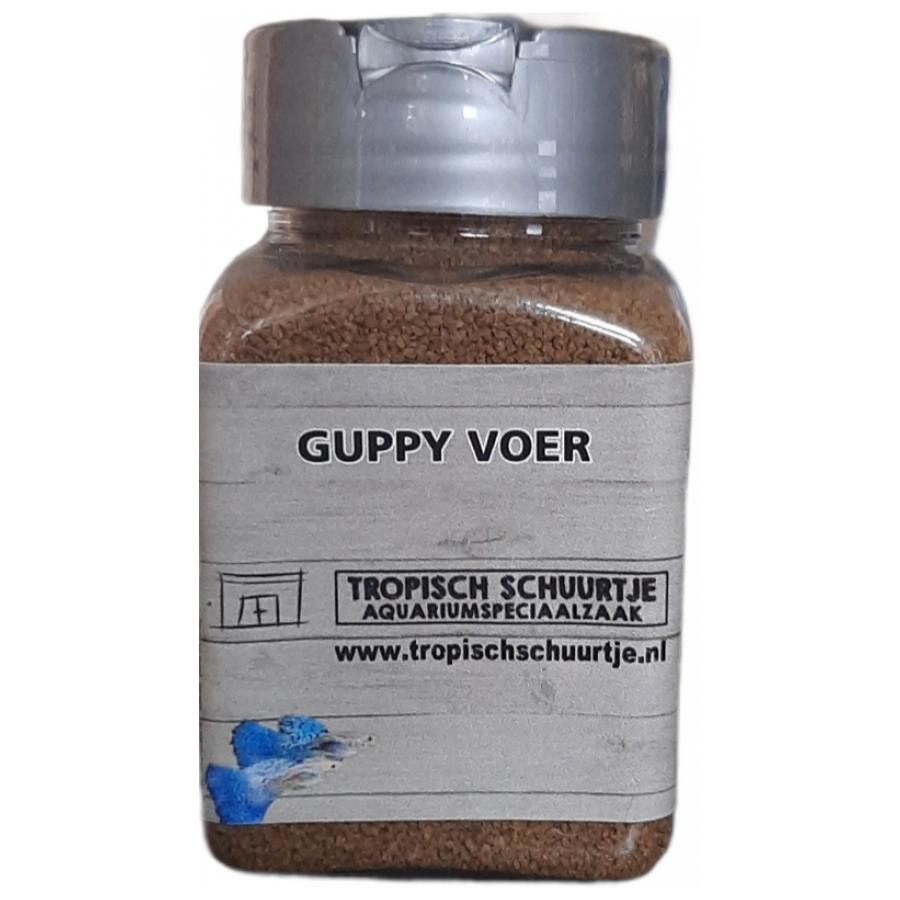 Guppy voer 100ml